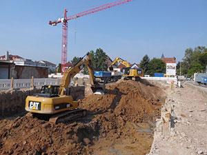 Referenzen, Neubau von Mehrfamilienhäuser
