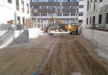 Referenzen, Neubau St.-Vincentius-Klinik in Karlsruhe